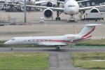 B747‐400さんが、羽田空港で撮影したユタ銀行 G-V-SP Gulfstream G550の航空フォト(写真)