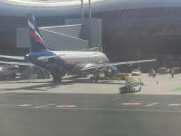ヒロリンさんが、ザグレブ空港で撮影したアエロフロート・ロシア航空 A320-214の航空フォト(飛行機 写真・画像)