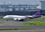 bluesky05さんが、羽田空港で撮影したタイ国際航空 747-4D7の航空フォト(写真)