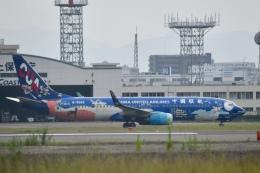 Kanatoさんが、福岡空港で撮影した中国聯合航空 737-8HXの航空フォト(飛行機 写真・画像)