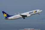 yabyanさんが、中部国際空港で撮影したスカイマーク 737-82Yの航空フォト(飛行機 写真・画像)