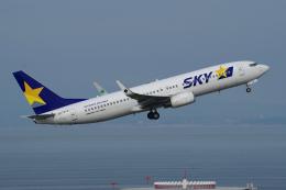 yabyanさんが、中部国際空港で撮影したスカイマーク 737-82Yの航空フォト(写真)