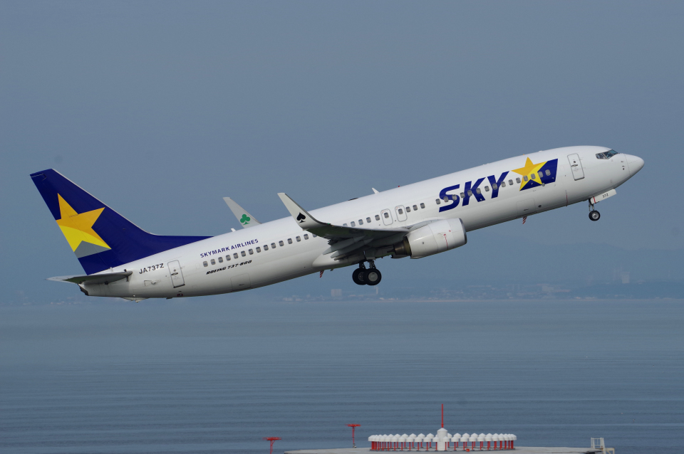 yabyanさんのスカイマーク Boeing 737-800 (JA737Z) 航空フォト