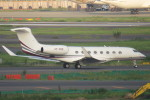 SFJ_capさんが、羽田空港で撮影したカタール・エグゼクティブ Gulfstream G650ER (G-VI)の航空フォト(写真)