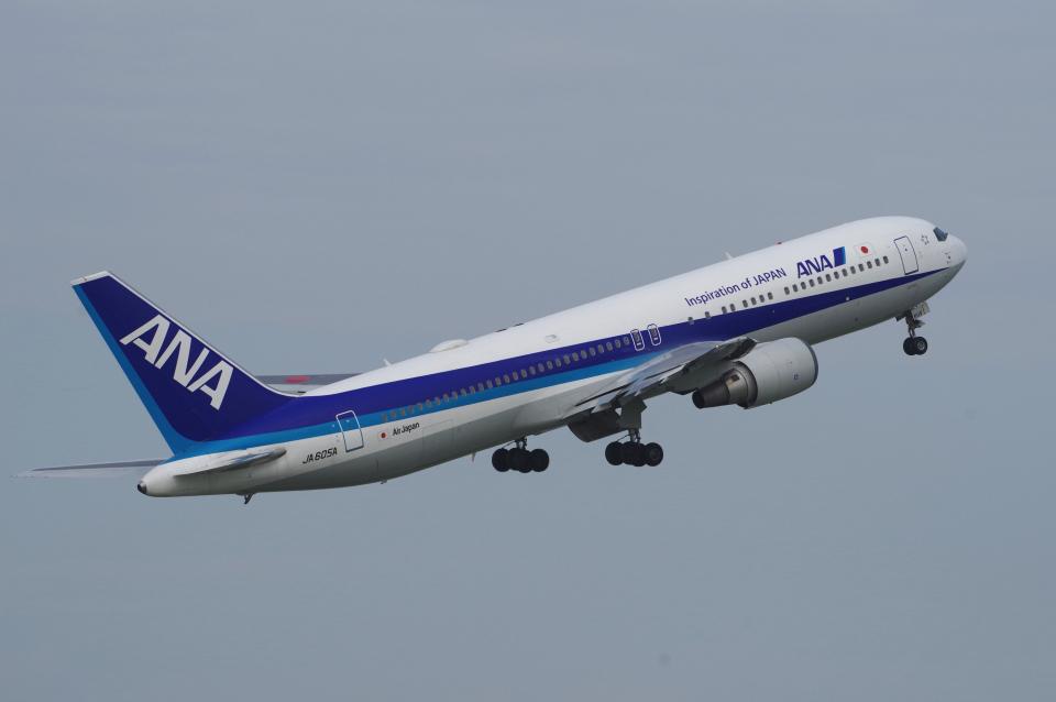 yabyanさんの全日空 Boeing 767-300 (JA605A) 航空フォト