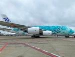 くろぼしさんが、成田国際空港で撮影した全日空 A380-841の航空フォト(写真)