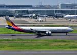 bluesky05さんが、羽田空港で撮影したアシアナ航空 A330-323Xの航空フォト(写真)
