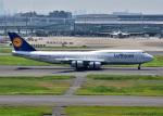 bluesky05さんが、羽田空港で撮影したルフトハンザドイツ航空 747-830の航空フォト(写真)