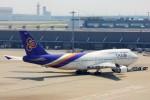ちっとろむさんが、羽田空港で撮影したタイ国際航空 747-4D7の航空フォト(写真)