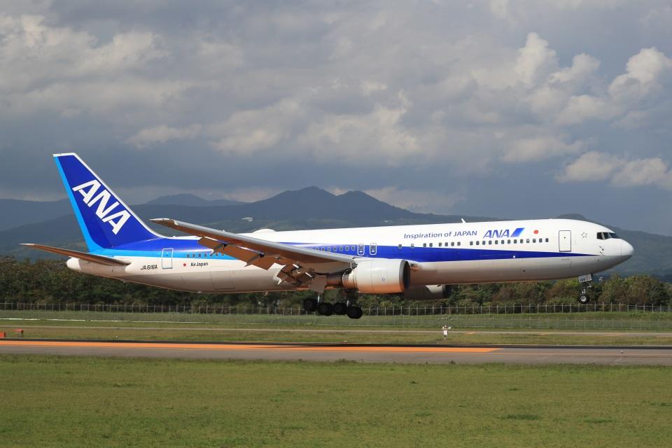 Tomochanさんの全日空 Boeing 767-300 (JA616A) 航空フォト
