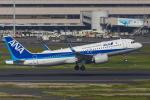 mameshibaさんが、羽田空港で撮影した全日空 A320-271Nの航空フォト(写真)