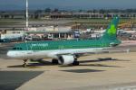 delawakaさんが、レオナルド・ダ・ヴィンチ国際空港で撮影したエア・リンガス A320-214の航空フォト(写真)
