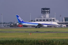 門ミフさんが、佐賀空港で撮影した全日空 767-381/ERの航空フォト(飛行機 写真・画像)