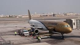 kumachanさんが、バーレーン国際空港で撮影したガルフ・エア A320の航空フォト(飛行機 写真・画像)