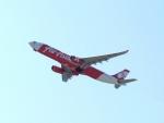 はまちのお寿司さんが、関西国際空港で撮影したタイ・エアアジア・エックス A330-343Xの航空フォト(飛行機 写真・画像)