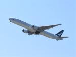 はまちのお寿司さんが、関西国際空港で撮影したキャセイパシフィック航空 777-367の航空フォト(飛行機 写真・画像)