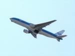 はまちのお寿司さんが、関西国際空港で撮影したKLMオランダ航空 777-206/ERの航空フォト(飛行機 写真・画像)