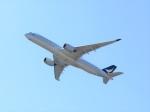 はまちのお寿司さんが、関西国際空港で撮影したキャセイパシフィック航空 A350-941XWBの航空フォト(飛行機 写真・画像)