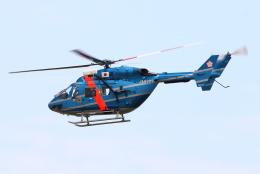 なごやんさんが、名古屋飛行場で撮影した岩手県警察 BK117C-1の航空フォト(飛行機 写真・画像)