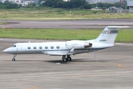 なごやんさんが、名古屋飛行場で撮影したエム・エイチ・アイ・ファイナンス G-IV Gulfstream IV-SPの航空フォト(飛行機 写真・画像)