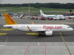 た~きゅんさんが、ハンブルク空港で撮影したペガサス・エアラインズ A320-251Nの航空フォト(飛行機 写真・画像)