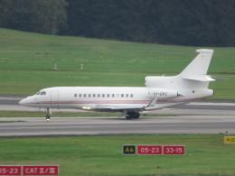 た~きゅんさんが、ハンブルク空港で撮影したKirk Aviation Falcon 7Xの航空フォト(飛行機 写真・画像)
