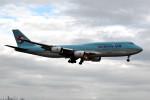 kuro2059さんが、成田国際空港で撮影した大韓航空 747-8B5の航空フォト(飛行機 写真・画像)