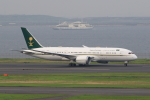 たまさんが、羽田空港で撮影したサウジアラビア財務省 787-8 Dreamlinerの航空フォト(写真)