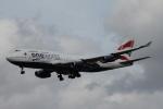 ガペ兄さんが、ロンドン・ヒースロー空港で撮影したブリティッシュ・エアウェイズ 747-436の航空フォト(写真)
