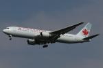 木人さんが、成田国際空港で撮影したエア・カナダ 767-375/ERの航空フォト(写真)
