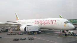 kumachanさんが、ボレ国際空港で撮影したエチオピア航空 A350 XWBの航空フォト(飛行機 写真・画像)