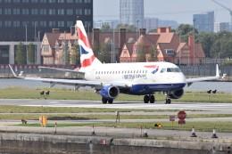 k-spotterさんが、ロンドン・シティ空港で撮影したBAシティフライヤー ERJ-170-100 (ERJ-170STD)の航空フォト(飛行機 写真・画像)