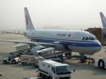 panchiさんが、成田国際空港で撮影した中国国際航空 A319-115の航空フォト(飛行機 写真・画像)