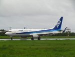 ノリださんが、宮古空港で撮影した全日空 737-8ALの航空フォト(写真)