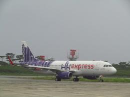 ノリださんが、下地島空港で撮影した香港エクスプレス A320-232の航空フォト(飛行機 写真・画像)