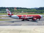 こうきさんが、成田国際空港で撮影したインドネシア・エアアジア・エックス A330-343Xの航空フォト(飛行機 写真・画像)