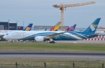 IL-18さんが、ロンドン・ヒースロー空港で撮影したオマーン航空 787-9の航空フォト(写真)