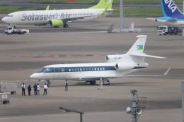 AXT747HNDさんが、羽田空港で撮影したジブチ共和国政府 Falcon 7Xの航空フォト(飛行機 写真・画像)
