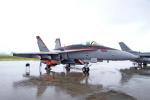 ちゃぽんさんが、横田基地で撮影したアメリカ海軍 F/A-18C Hornetの航空フォト(飛行機 写真・画像)