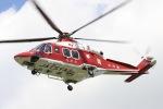 フクシマ119さんが、山形市 霞城公園で撮影した山形県消防防災航空隊 AW139の航空フォト(飛行機 写真・画像)