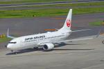 ちゃぽんさんが、中部国際空港で撮影した日本航空 737-846の航空フォト(写真)