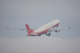 神宮寺ももさんが、関西国際空港で撮影したトルコ政府 A330-243/Prestigeの航空フォト(飛行機 写真・画像)