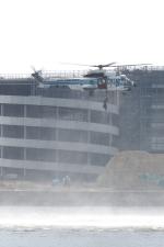 木人さんが、船橋東埠頭で撮影した海上保安庁 EC225LP Super Puma Mk2+の航空フォト(写真)