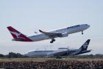 かずまっくすさんが、シドニー国際空港で撮影したカンタス航空 A330-202の航空フォト(写真)