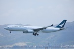 garrettさんが、香港国際空港で撮影したキャセイパシフィック航空 A330-343Xの航空フォト(写真)
