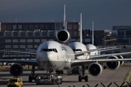 k-spotterさんが、フランクフルト国際空港で撮影したルフトハンザ・カーゴ MD-11Fの航空フォト(飛行機 写真・画像)