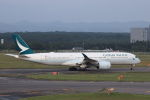 funi9280さんが、新千歳空港で撮影したキャセイパシフィック航空 A350-941の航空フォト(飛行機 写真・画像)
