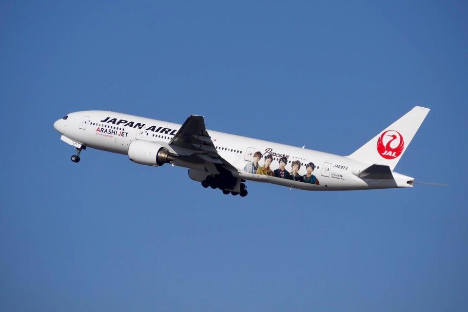 flying_horseさんの日本航空 Boeing 777-200 (JA8979) 航空フォト