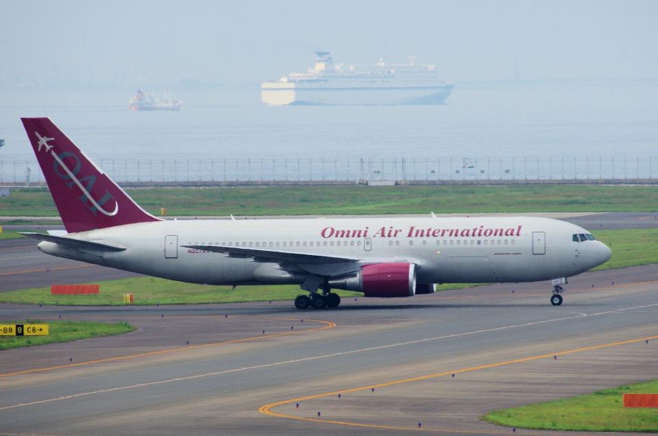 yabyanさんのオムニエアインターナショナル Boeing 767-200 (N207AX) 航空フォト