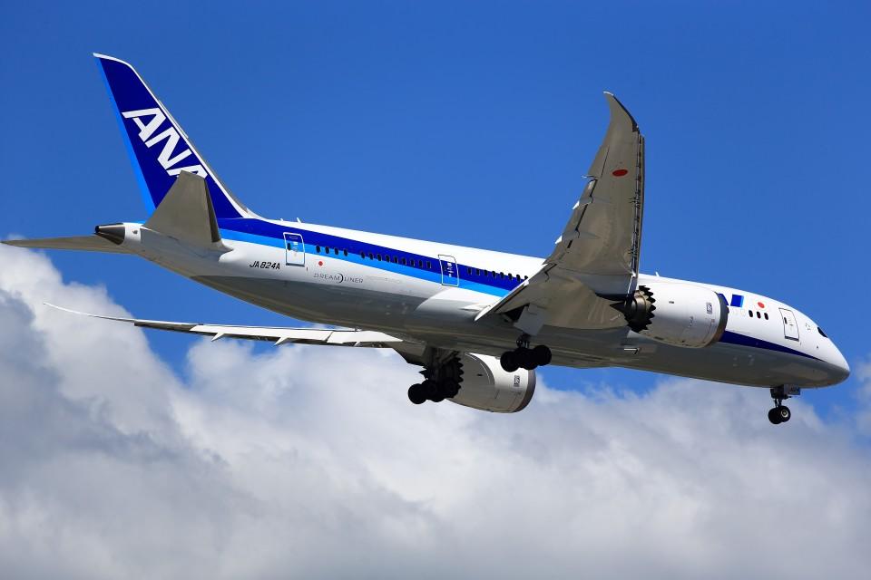 T.Sazenさんの全日空 Boeing 787-8 Dreamliner (JA824A) 航空フォト